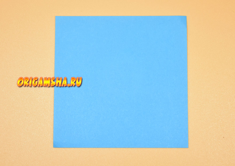 Базовые формы оригами квадрат