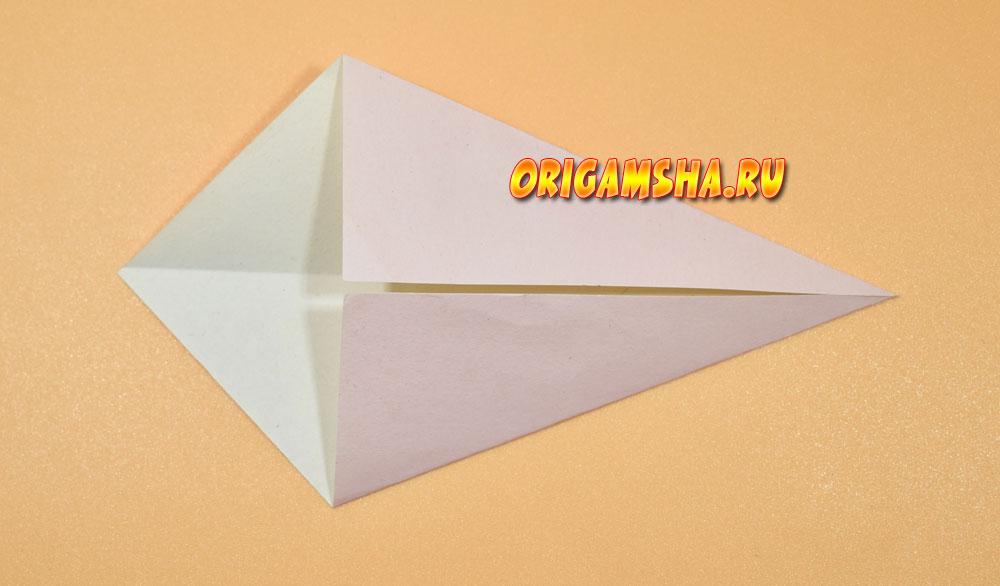 Базовые формы оригами воздушный змей