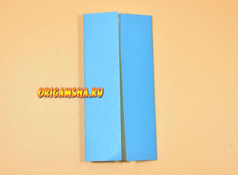 Базовые формы оригами дверь