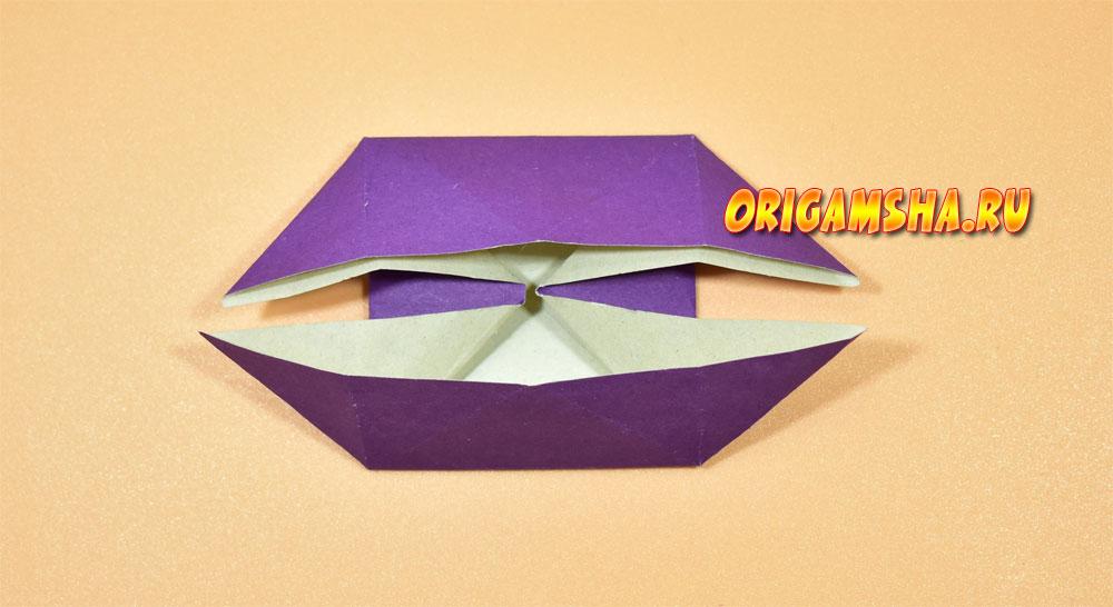 Базовые формы оригами: катамаран