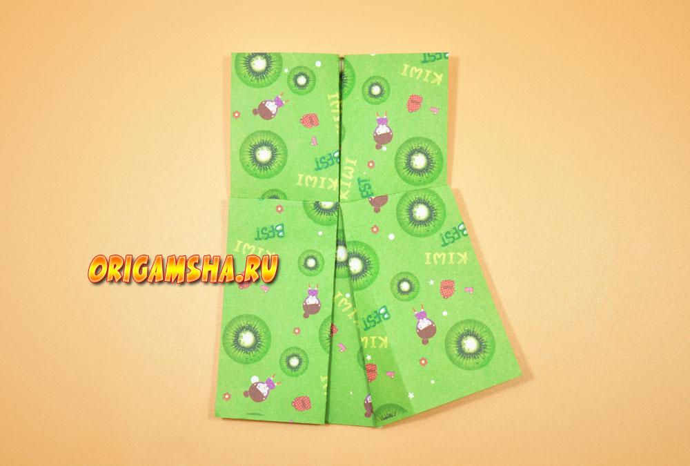 платье оригами