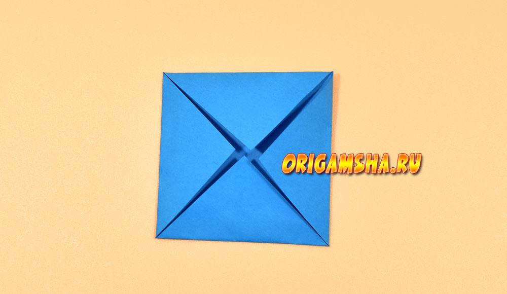 Оригами мышка