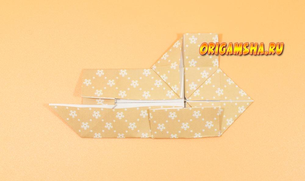 Оригами обезьяна