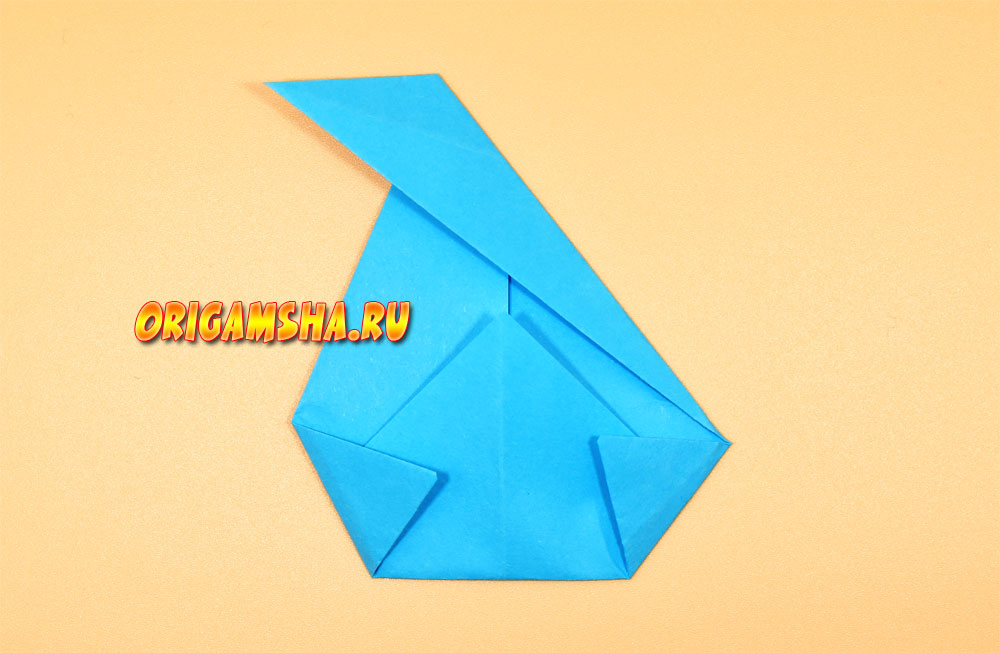 оригами павлин