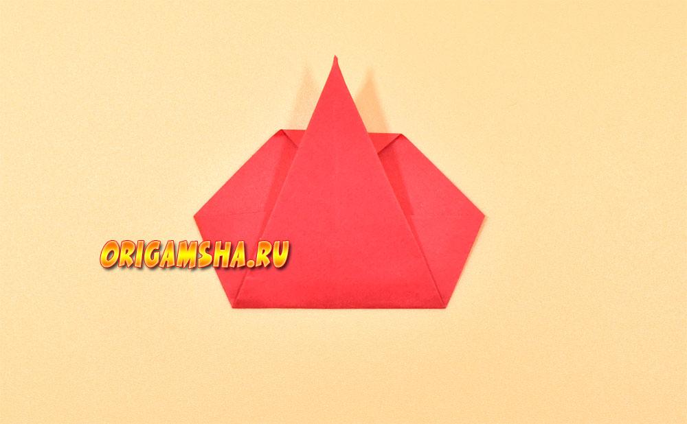 Оригами яблоко