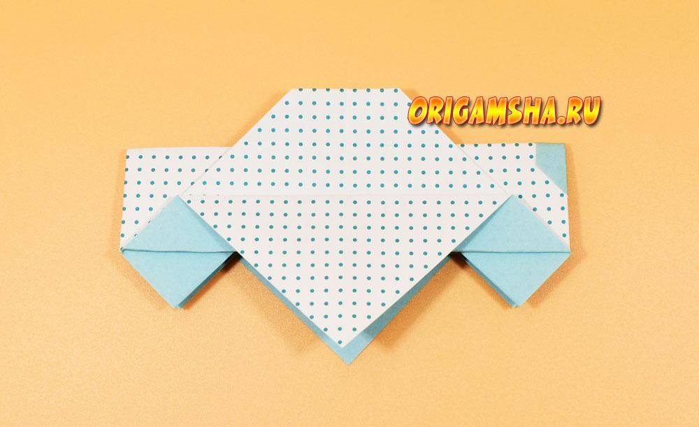 Оригами машина