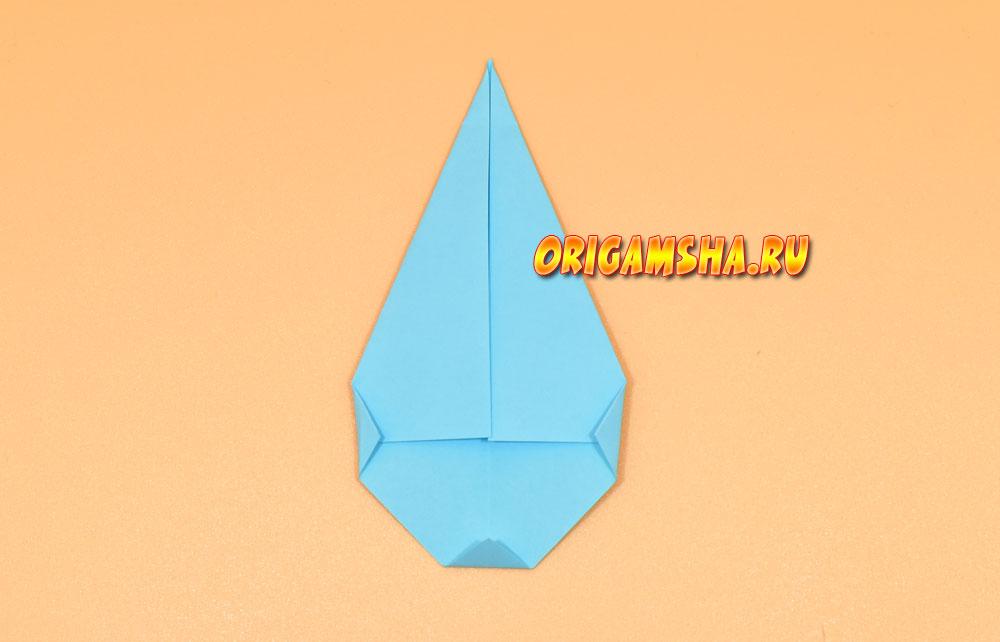 Оригами дождик
