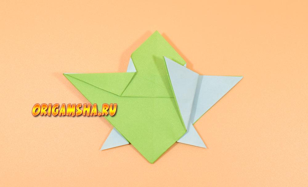 Оригами черепаха