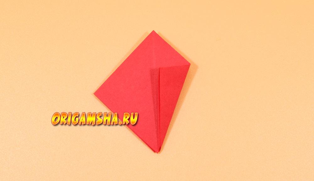 Оригами ловушка для пальцев