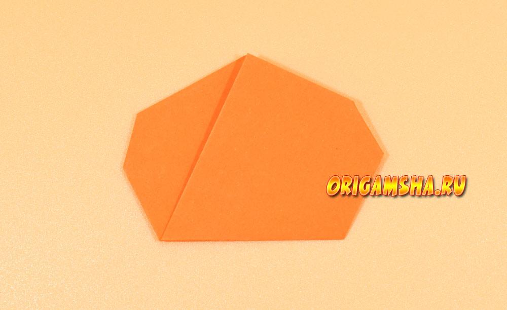 тыква оригами